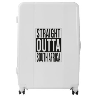 straight outta South Africa Luggage