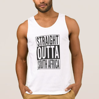straight outta South Africa Tank Top