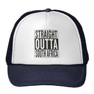 straight outta South Africa Trucker Hat