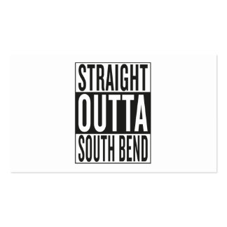 straight outta South Bend Business Card