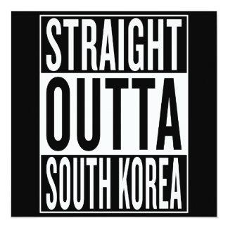 straight outta South Korea Card