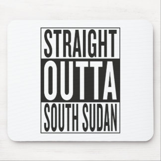 straight outta South Sudan Mouse Pad