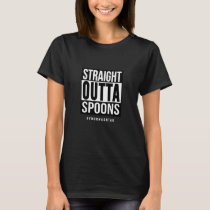 Straight Outta Spoons Custom Hashtag Women's T-Shirt
