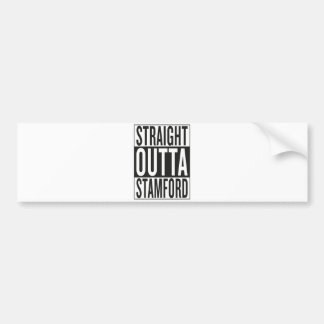 straight outta Stamford Bumper Sticker