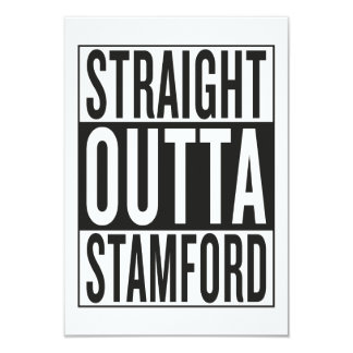 straight outta Stamford Card