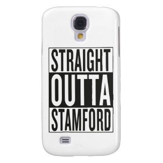 straight outta Stamford Galaxy S4 Case
