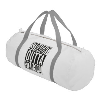 straight outta Stamford Gym Bag