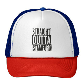 straight outta Stamford Trucker Hat