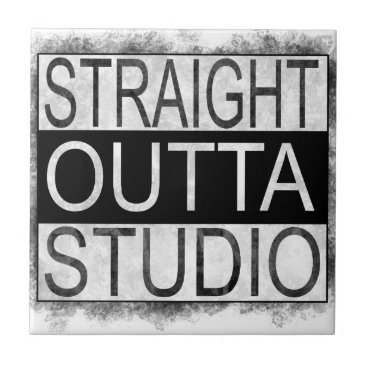 Straight outta STUDIO Ceramic Tile
