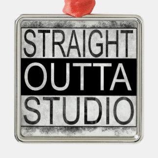 Straight outta STUDIO Metal Ornament
