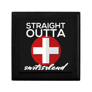 STRAIGHT OUTTA SWITZERLAND JEWELRY BOX