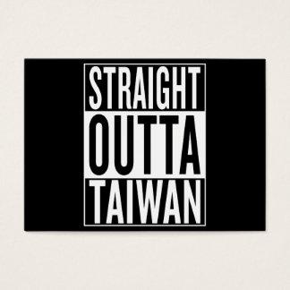 straight outta Taiwan Business Card