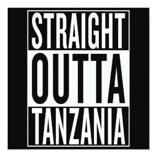 straight outta Tanzania Card