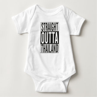 straight outta Thailand Baby Bodysuit