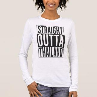 straight outta Thailand Long Sleeve T-Shirt