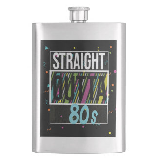 Straight outta the 80s retro vintage 1980 flask