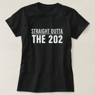 Straight outta the Washington area code T-Shirt