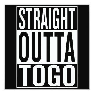 straight outta Togo Card