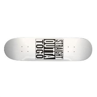 straight outta Togo Skateboard