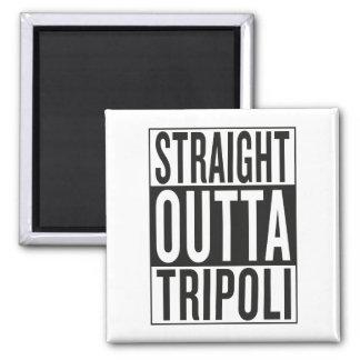 straight outta Tripoli Magnet