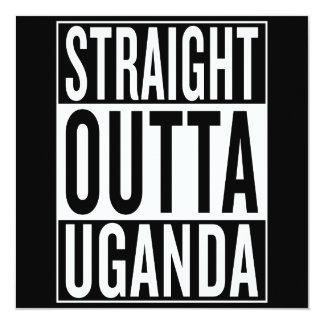 straight outta Uganda Card