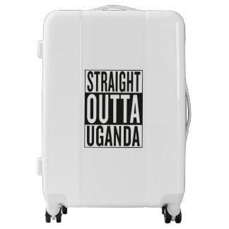 straight outta Uganda Luggage