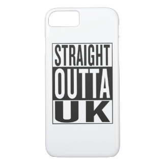 straight outta UK iPhone 8/7 Case