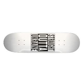 straight outta Ukraine Skateboard Deck
