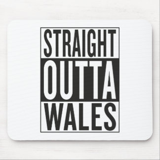straight outta Wales Mouse Pad