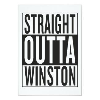 straight outta Winston Card