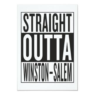straight outta Winston–Salem Card