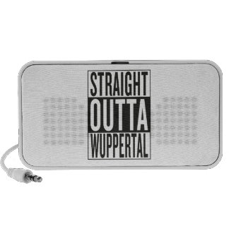 straight outta Wuppertal Portable Speaker