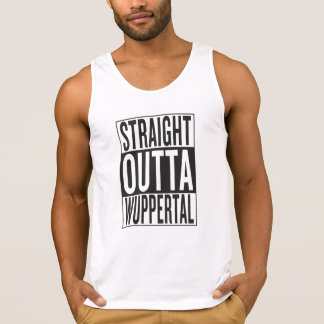 straight outta Wuppertal Tank Top