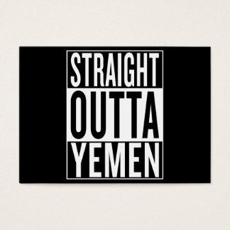 straight outta Yemen Business Card