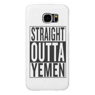 straight outta Yemen Samsung Galaxy S6 Case