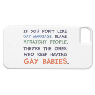 Straight People Are Having Gay Babies iPhone 5 Cases