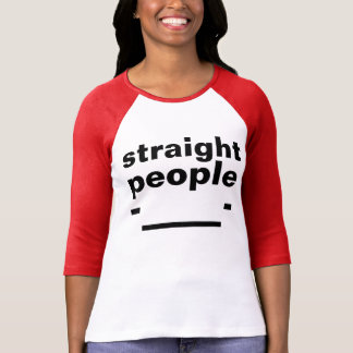 straight people face shirt