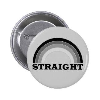 Straight Pinback Button