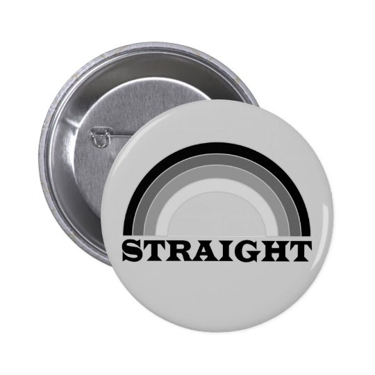 Straight Pinback Button