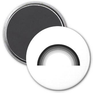 Straight Pride 3 Inch Round Magnet
