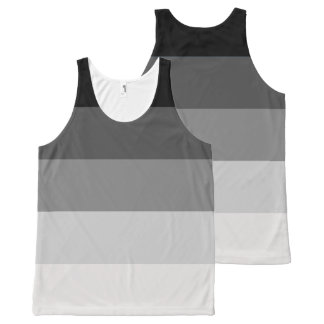 Straight Pride All-Over Print Tank Top