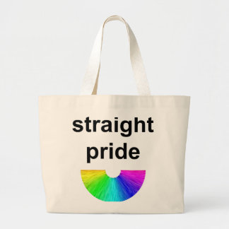 Straight Pride Tote Bags