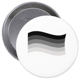 Straight Pride Banner 4 Inch Round Button