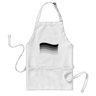 Straight Pride Banner Adult Apron