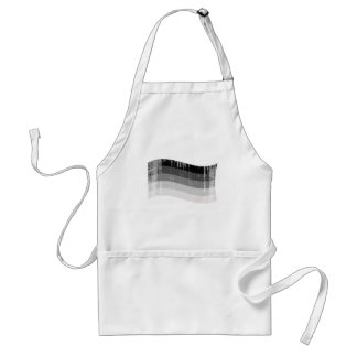 Straight Pride Banner distressed.png Adult Apron