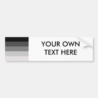 Straight Pride Car Bumper Sticker