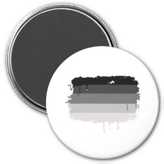 Straight Pride Colors 3 Inch Round Magnet