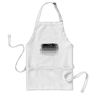 Straight Pride Colors distressed.png Adult Apron
