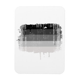 Straight Pride Colors distressed.png Rectangular Photo Magnet