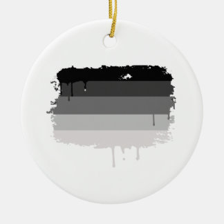 Straight Pride Colors Christmas Ornaments